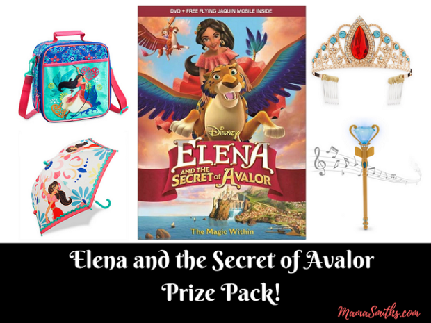 Elena of Avalor Prize Pack