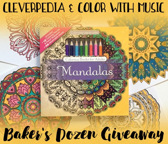 Cleverpedia & Color With Music Baker's Dozen Giveaway