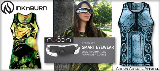 Recon Smart Eyewear & INKnBURN Shirt