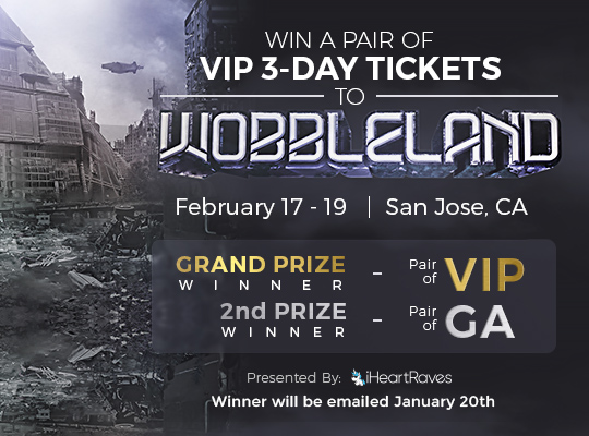 Win A Pair of VIP 3 Day Tickets to Wobbleland