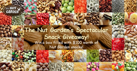 The Nut Garden's Spectacular Snack Giveaway!