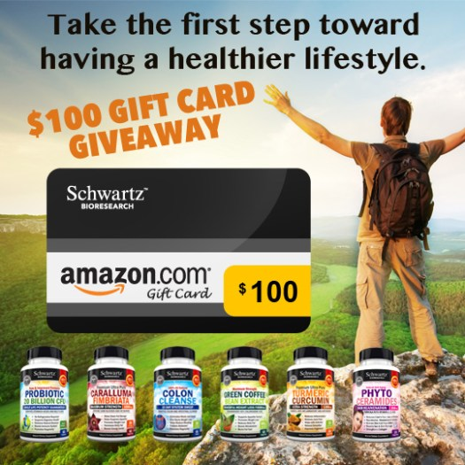 Enter to Win a $100 Amazon Gift Card Voucher* and get our FREE Smoothie Ebook