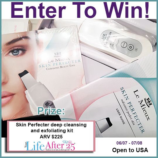 Your Life After 25's Skin Perfecter Beauty Giveaway