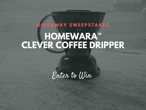 Enter to win a Homewara Clever Coffee Dripper from CaughtAdrift