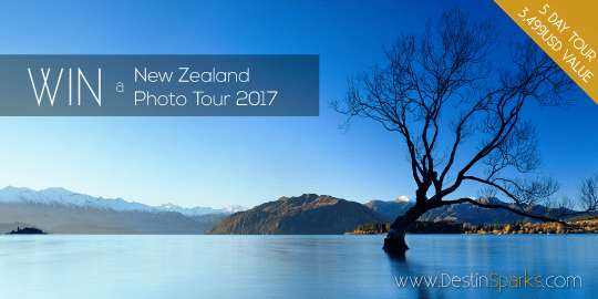 WIN a New Zealand Photo Tour