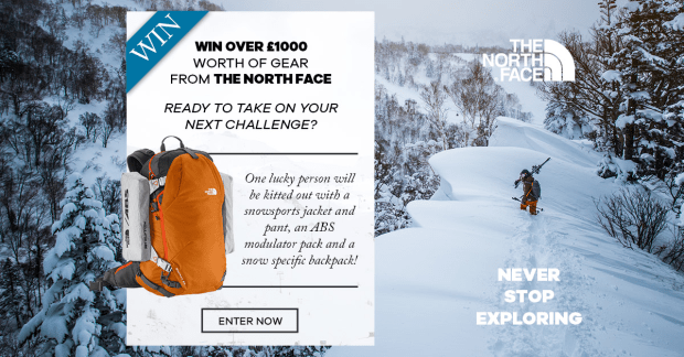 Get Mountain Ready with The North Face!