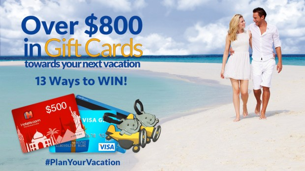 Sitata's Plan For Vacation Giveaway