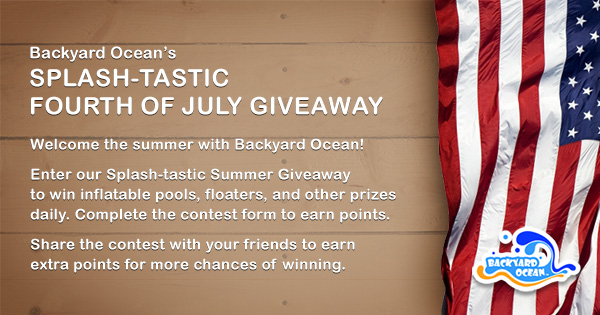 Backyard Ocean Splash-tastic Fourth Of July Giveaway
