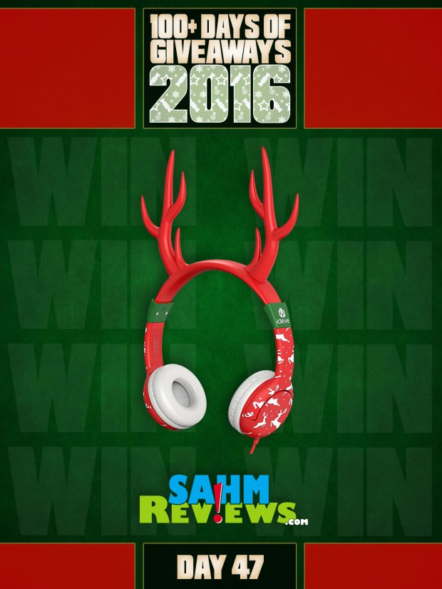 100+ Days of Giveaways - Day 47 - Reindeer Headphones