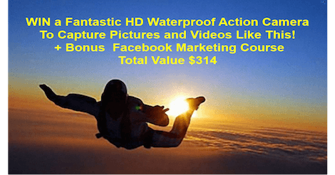Win a Fantastic HD Waterproof Action Camera and Facebook Marketing Course