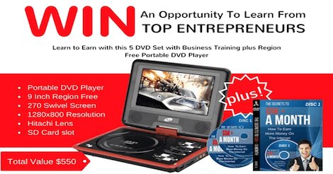 Win An Opportunity To Learn From Top Entrepreneurs