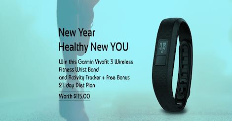 Win this Garmin Vivofit 3