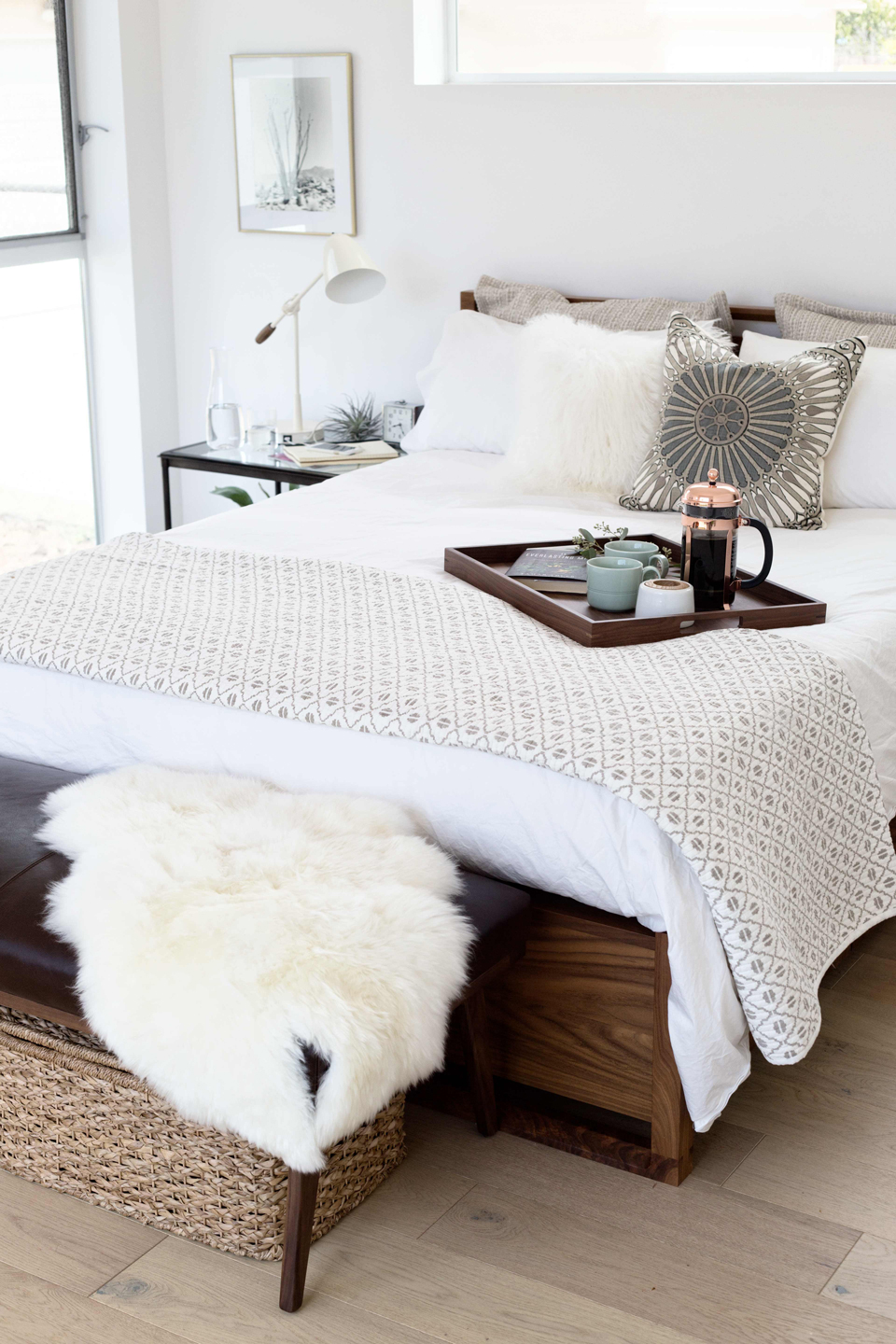 His And Hers Bedroom Registry Picks Crate And Barrel Blog