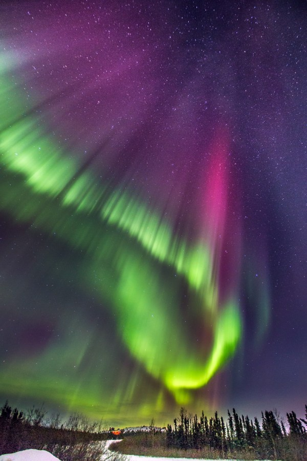 Hunting the Northern Lights in Fairbanks, Alaska - Matador ...