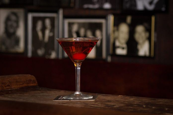 Cocktail at Julius Bar in New York City