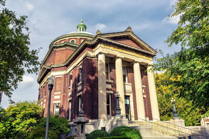 Earl Hall at Columbia University in New York City