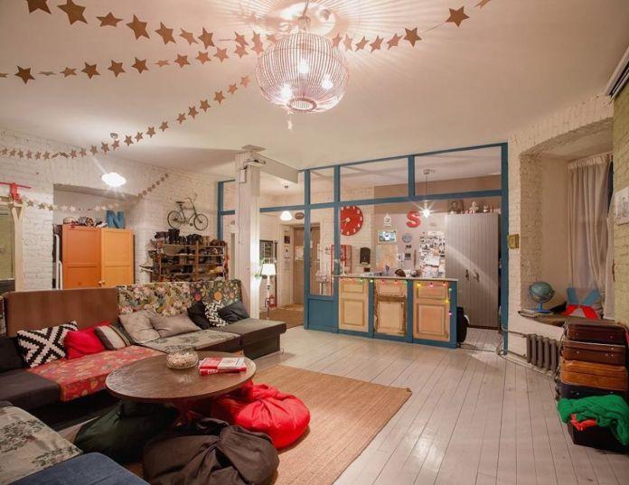 Soul Kitchen Hostel in St Petersburg, Russia