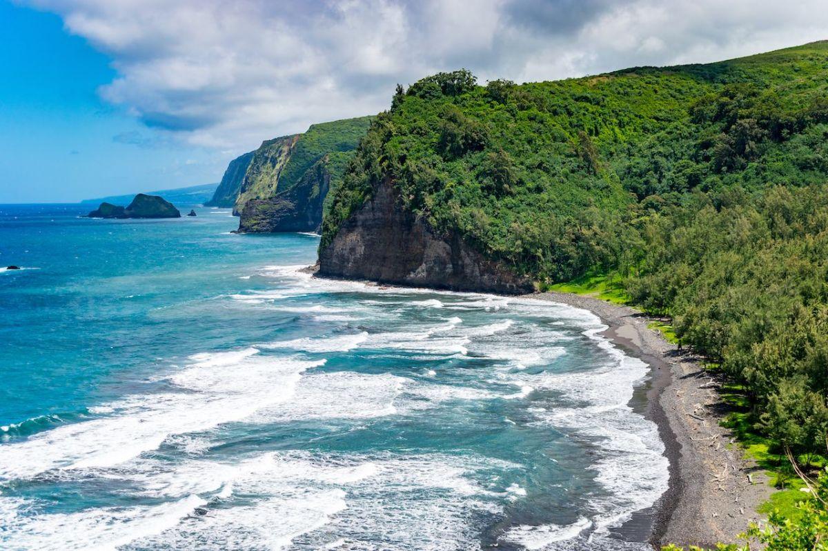 Polulu Beach - Big Island Hawaii