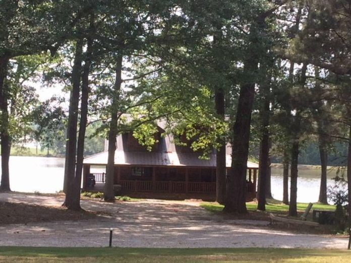 Tony Stark's cabin in Endgame by the lake