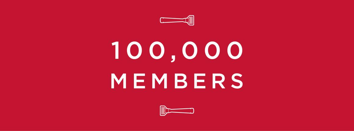 Cornerstone's 100,000 Members