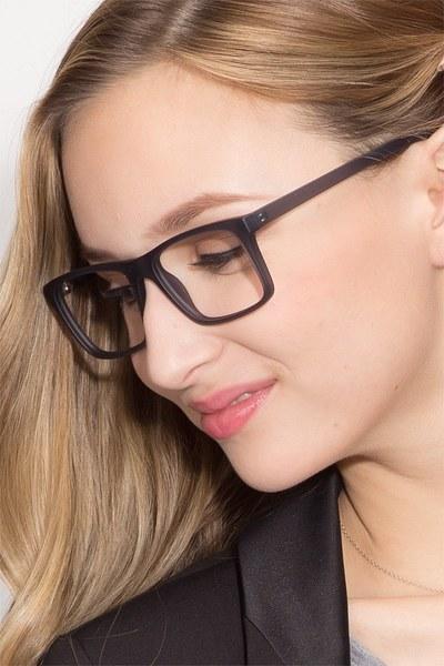 Persian Matte Gray Plastic Eyeglasses EyeBuyDirect