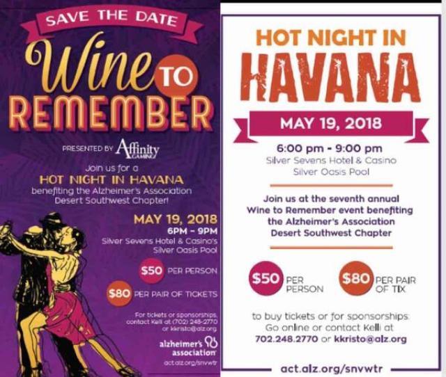 Havana Nights Alzheimers Charity Event
