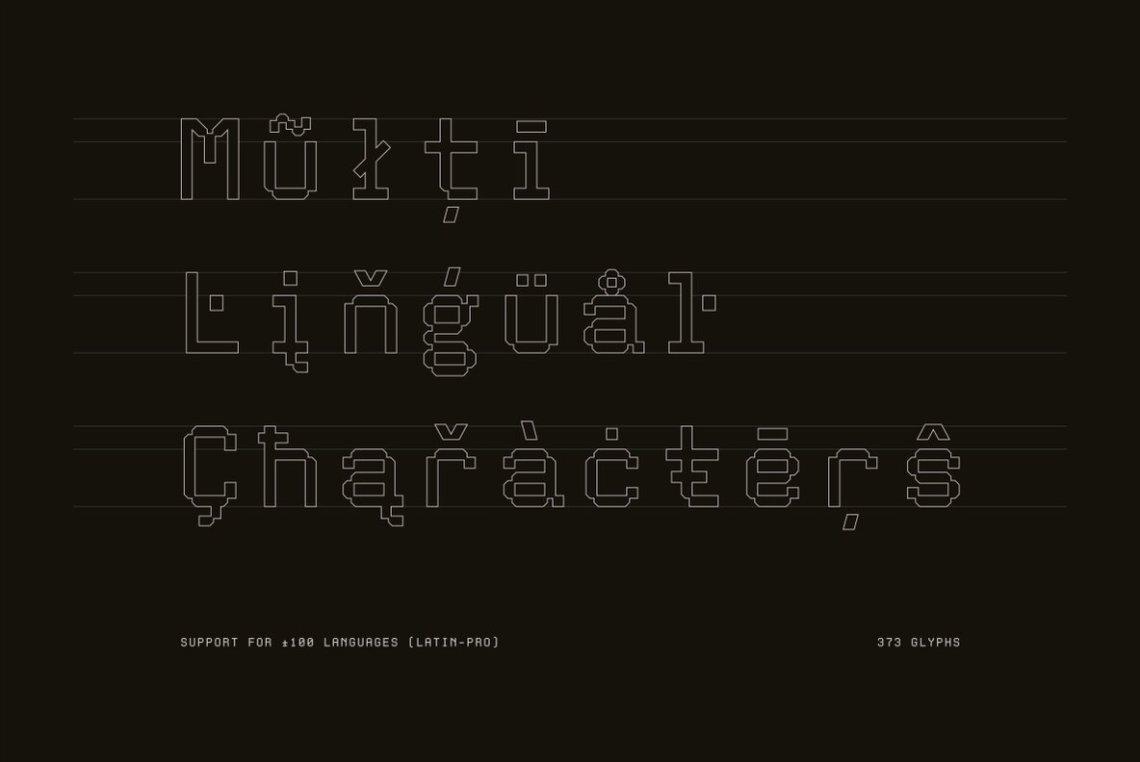 Download Aux Mono - Desktop Font & WebFont - YouWorkForThem