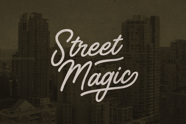 Download Street Magic - Desktop Font & WebFont - YouWorkForThem