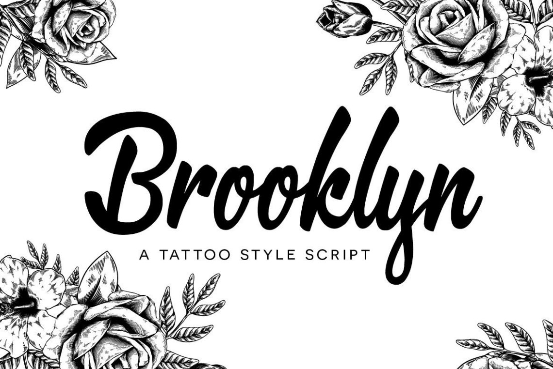 Download Brooklyn Script - Desktop Font & WebFont - YouWorkForThem
