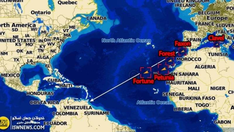 Latest on Iranian Tankers Heading to Venezuela to Alleviate Fuel Scarcity Due to US Criminal Sanctions (Latest Position)