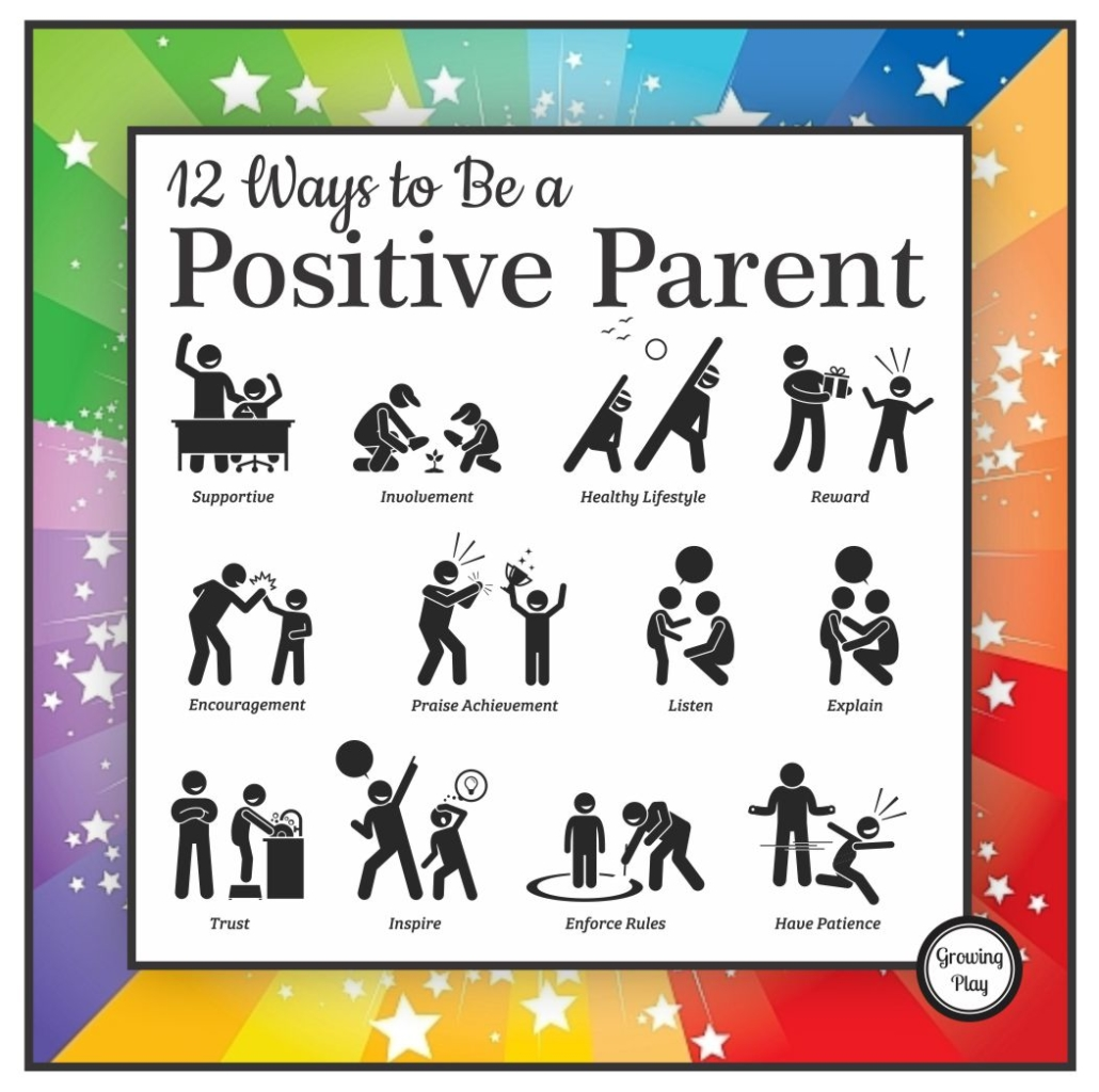 12 Positive Parenting Techniques