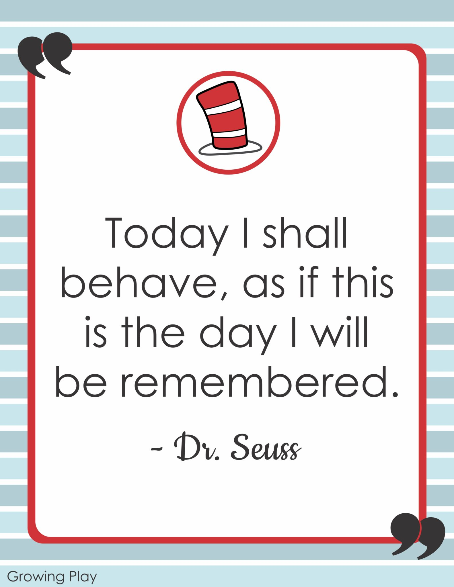 Dr Seuss Quotes Last Day Remembered