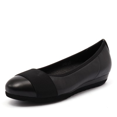 Gamins Farrow Black/Black Leather (Black)