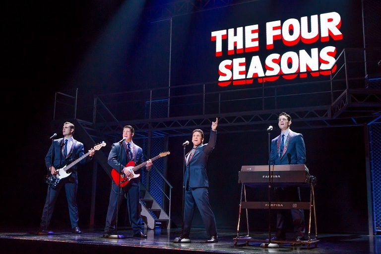 jersey boys performing onstage