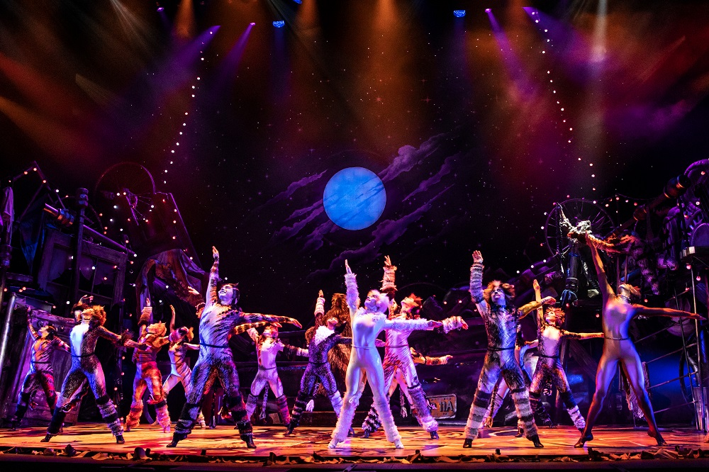 The North American Tour Company of CATS. Photo by Matthew Murphy 2019.