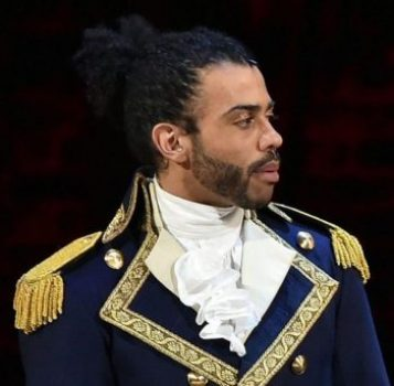 Daveed Diggs as Marquis De Lafayette.