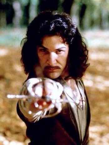Mandy Patinkin as Inigo Montoya in the 1987 cult classic 'The Princess Bride.'