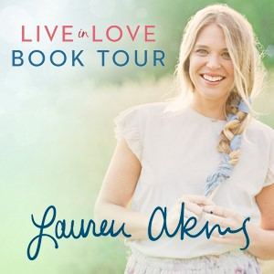 Lauren Akins Live in Love Tour