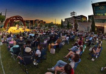 NSF is bringing the Centennial Park bandshell to you.