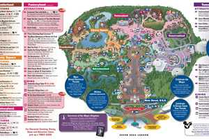 New Fantasyland on the Magic Kingdom guide map   Photo 1 of 2 New Fantasyland on the Magic Kingdom guide map