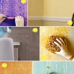 Textured Wall Painting Ideas From Faux Wood To Linen Effects Home Tree Atlas