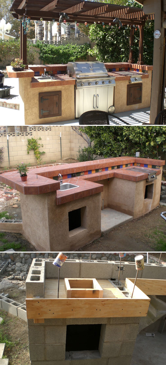 Design Your Space: Outdoor Kitchen Ideas | Home Tree Atlas on Patio Kitchen Diy  id=33353