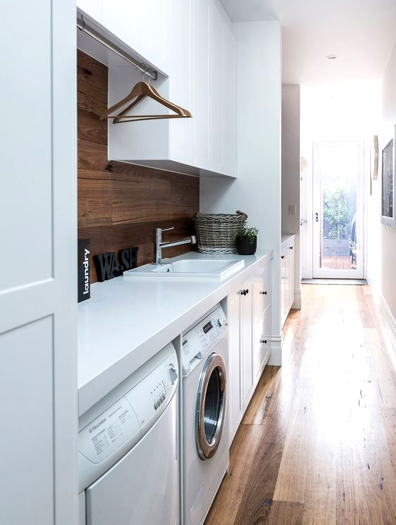 Style Guide: Modern Laundry Room Ideas and Storage Tips ... on Laundry Decorating Ideas  id=12977