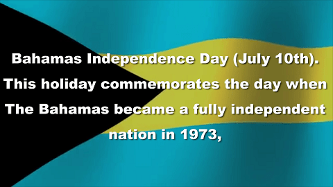 Image result for Bahamian Independence Day: