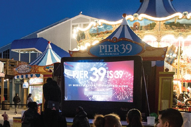 Things to Do at Pier 39 - Outdoor Movies