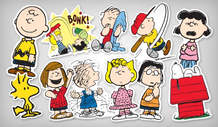 Peanuts Stickers StickerYou Products StickerYou