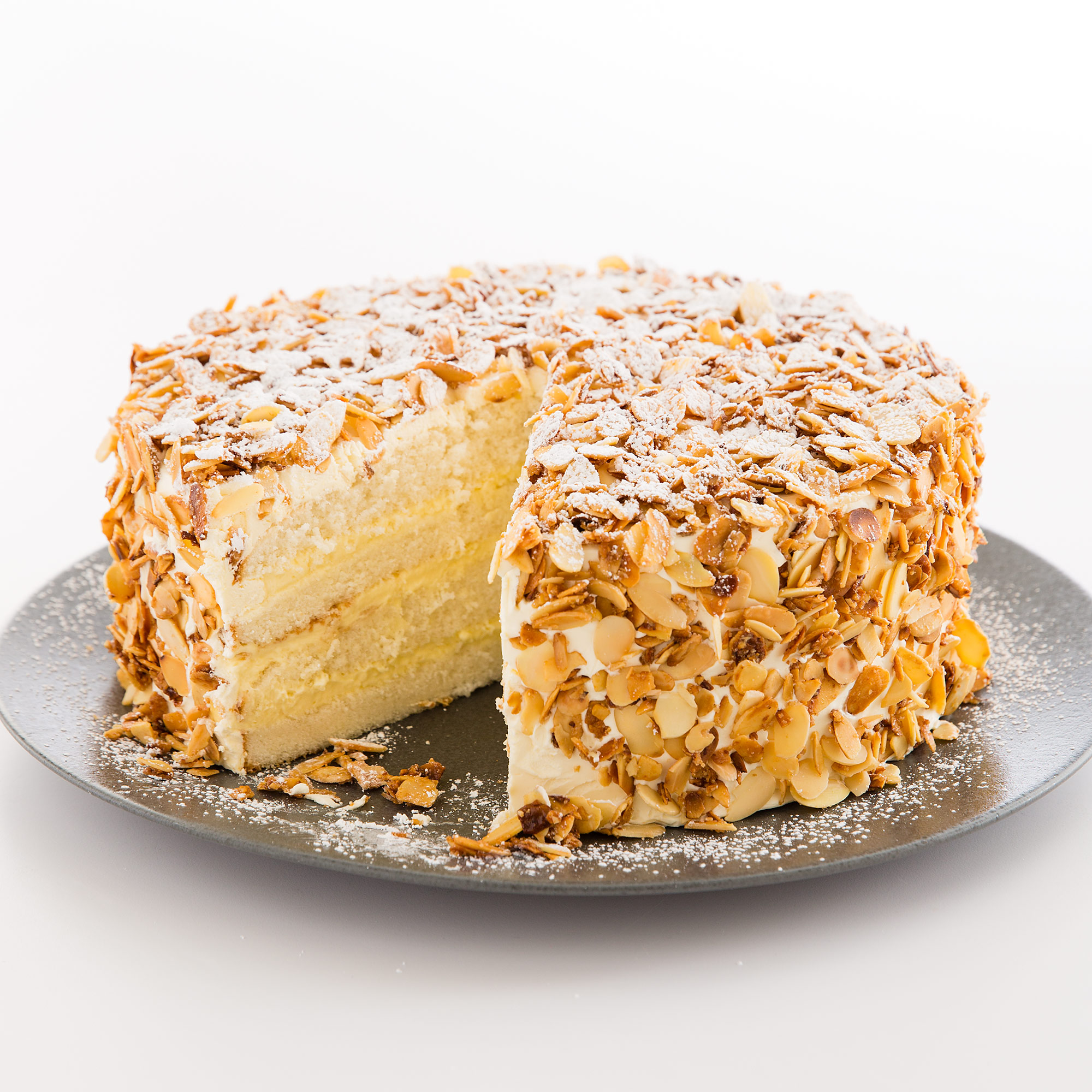 Toasted Almond Cake Cooks Country