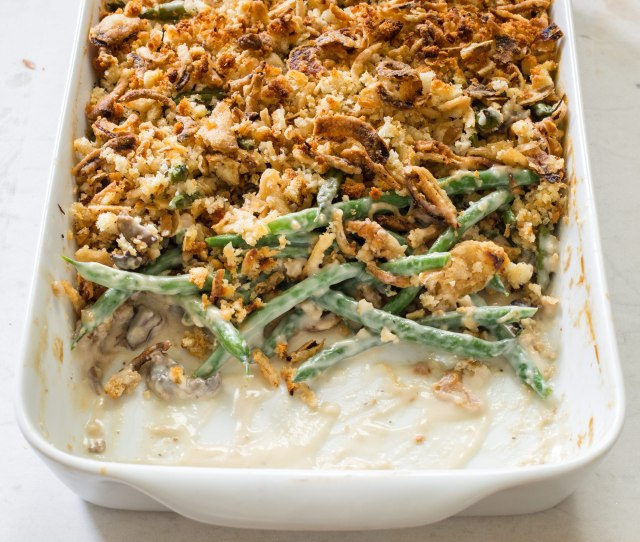 Upgrade Your Thanksgiving Green Bean Casserole Recipe Cooks Illustrated