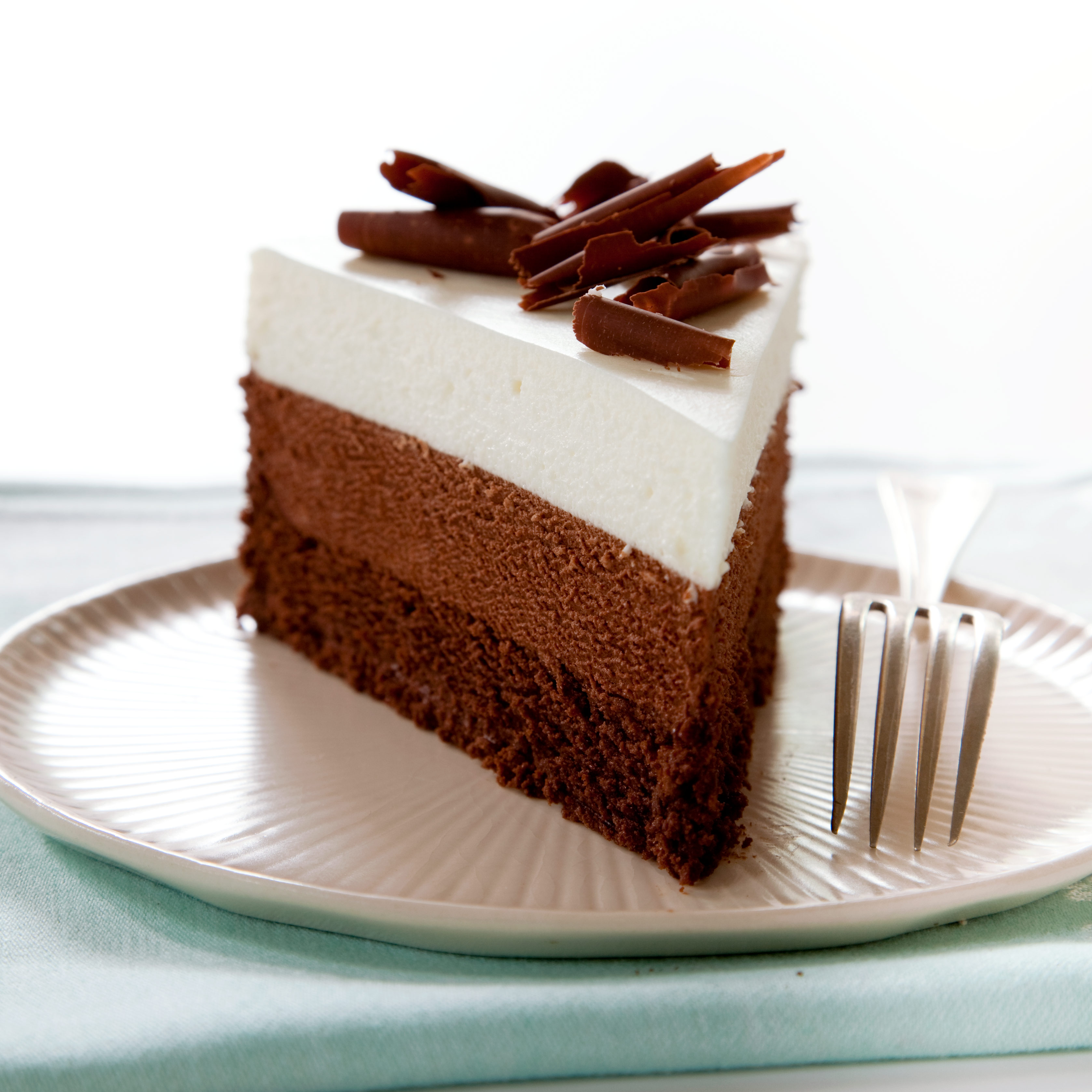 Mousse Cake Chocolate Triple Layer