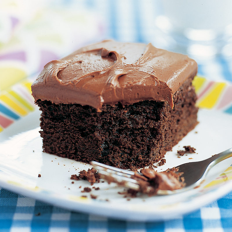 Reduced Fat Chocolate Sheet Cake Cooks Country